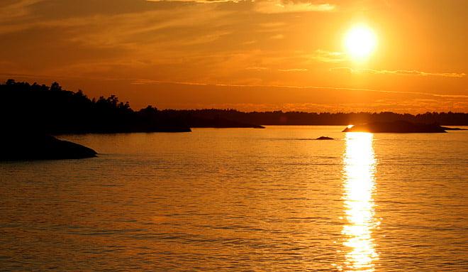 En fin solnedgång är inte dumt alls!