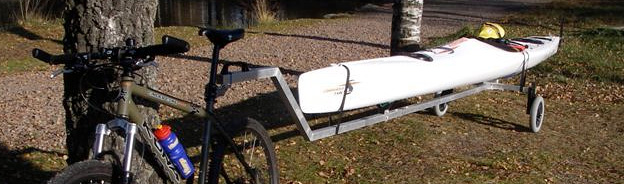 Janne Bengtssons cykelkajakvagn