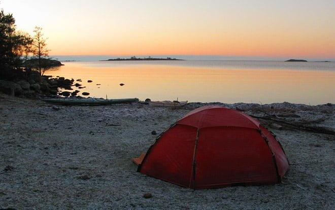 Morgon på Slädö